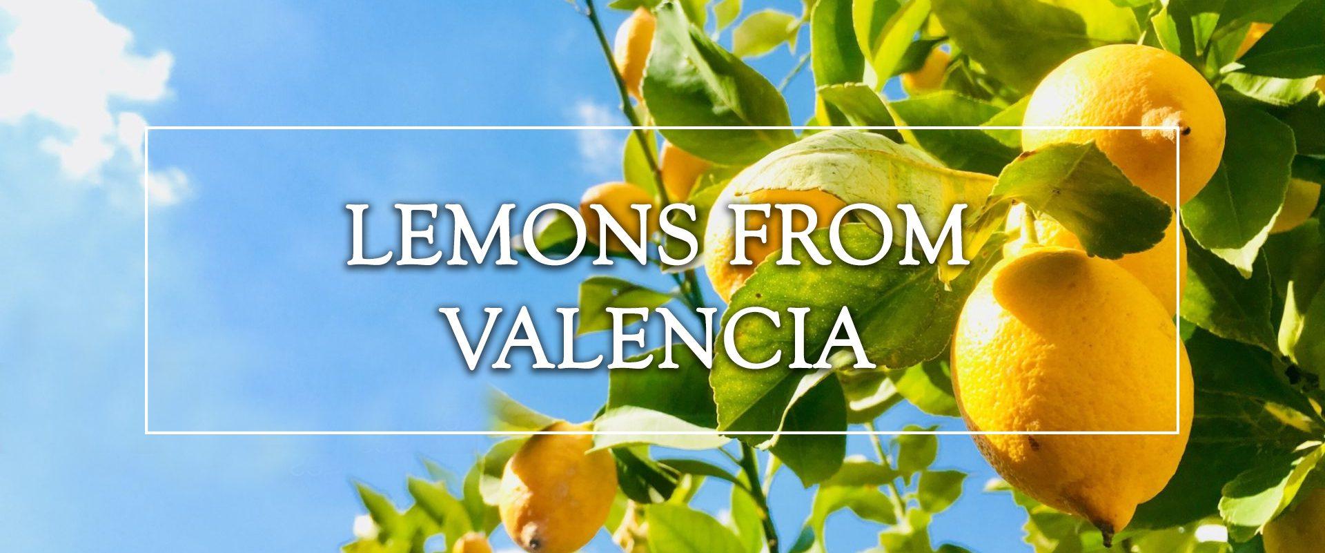 lemons from Valencia